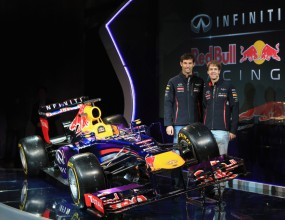 Шампионите представиха новия болид за сезон 2013
