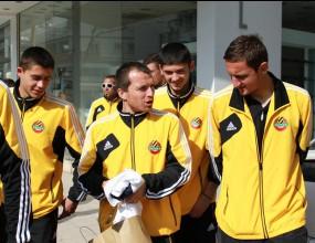 Футболистите на Ботев (Пд) се разходиха из Никозия