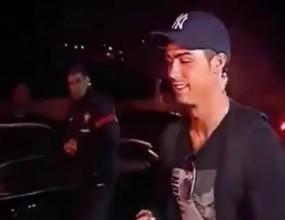 """Невероятно! Фен скандира """"Меси, Меси"""" към Кристиано в Португалия (видео)"""