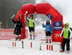 Мария Киркова спечели титлата в слалома на държавното първенство