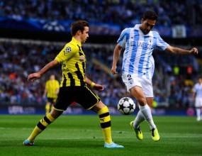 Куп пропуски лишиха Дортмунд от победа в Малага (видео+галерия)