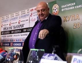 Венци Стефанов: Исках да ни се падне Левски! Съдиите все са за бой