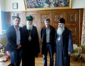Патриарх Неофит благослови ЦСКА