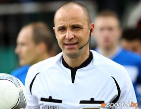 Контузеният съдия от Литекс - Левски аут до края на сезона