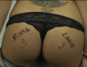 Секси блондинка прогнозира: Рома ще бие Лацио с 3:2