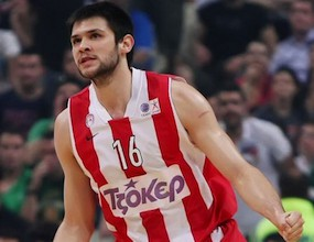 Костас Папаниколау е MVP на XIV кръг на Топ 16