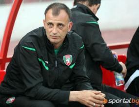 Изгоненият треньор на Ботев: Съдията трябваше да си тръгне с мен