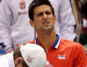 """Сърбия срещу Канада на 1/2-финал за купа """"Дейвис"""", Джокович с контузия"""