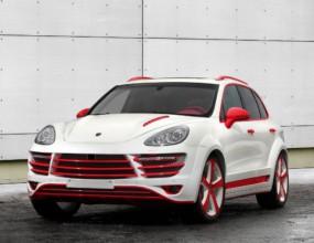Червеният дракон (Porsche Cayenne)