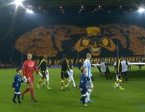 Ето как бе сътворена страхотната хореография на феновете на Борусия (Д) за мача с Малага (видео)