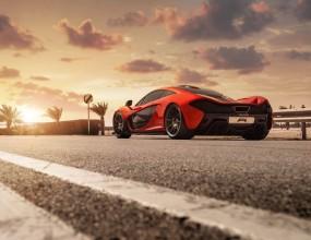 McLaren направи нова фотосесия на P1