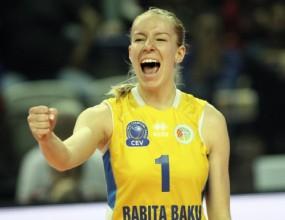 Доби Рабаджиева и Марчело Абонданца шампиони на Азербайджан с Рабита!