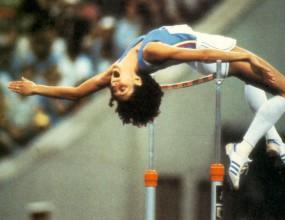 Една от кралиците на скока на височина Сара Симеони на 60 години