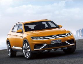 Volkswagen CrossBlue Coupe (Снимки)