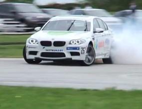 BMW поставиха рекорд с над 80 километра на дрифт (Видео)
