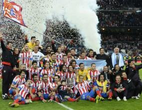 Вместо Реал, Атлетико  вдигна десетата