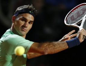 Федерер на полуфиналите в Рим