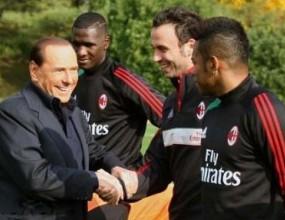 Берлускони при Милан