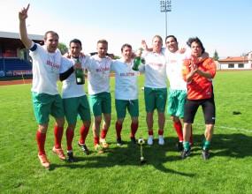 България шампион на Европа по футбол за журналисти!