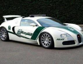 Bugatti Veyron e новата патрулка в Дубай