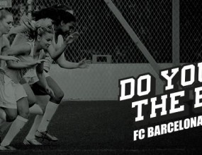 Женски отбор отправи предизвикателство към Барселона (видео)