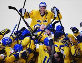 Швеция триумфира със световната титла по хокей