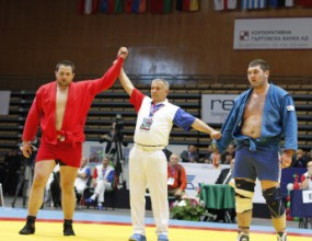 Иван Илиев стана европейски шампион по самбо