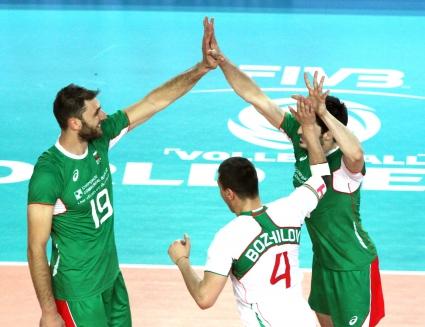 """България е лидер в """"групата на смъртта"""" в Световната лига"""