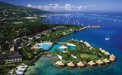 Таити - футбол покрай коралови рифове