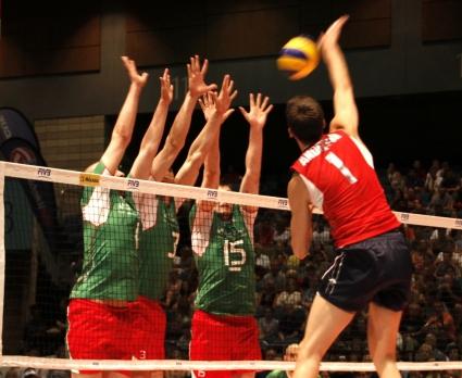 САЩ удари първи шамар на България в Световната лига (ВИДЕО + ГАЛЕРИЯ)
