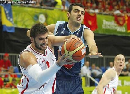 Босна и Херцеговина с първа победа на Евробаскет 2013