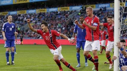 Норвегия излезе на второ място след 2:0 над Кипър (видео)