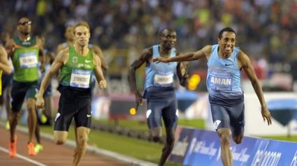Аман спечели диаманта на 800 м с най-добър резултат в света за сезона