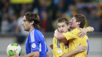Рекордна победа за Украйна - 9:0 (видео)