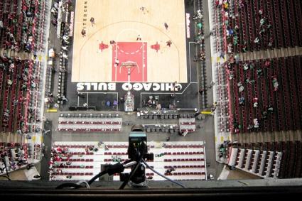 Повече камери в НБА за мачовете през новия сезон