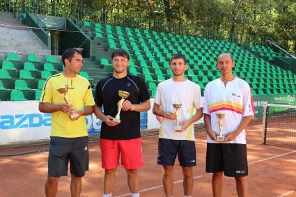 Грозданов и Кушев са държавните шампиони на двойки