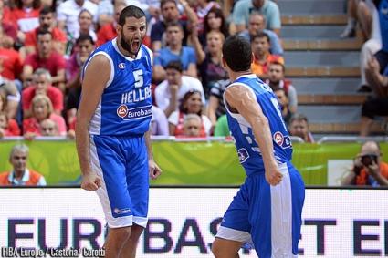 Гърция нанесе трето поражение на Турция на Евробаскет 2013