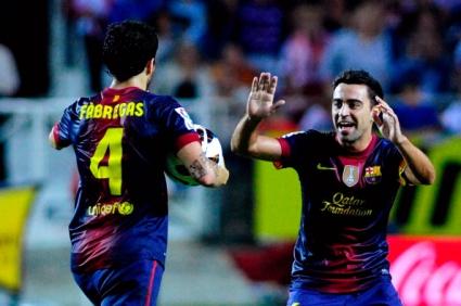 Чави щастлив от оставането на Фабрегас