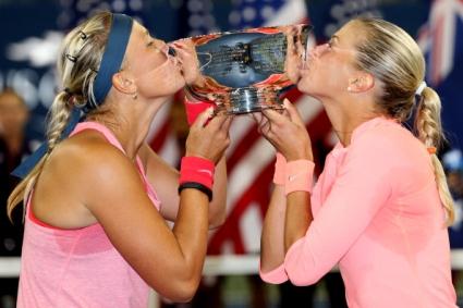 Чехкини спечелиха титлата на двойки на Откритото първенство на САЩ