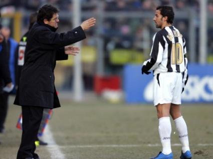 Дел Пиеро искал да се махне от Ювентус заради Капело