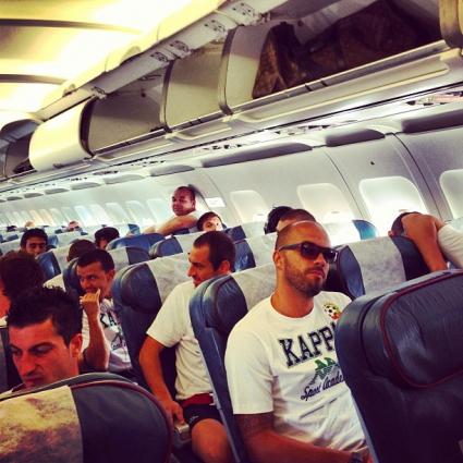 Националите пристигнаха в Малта
