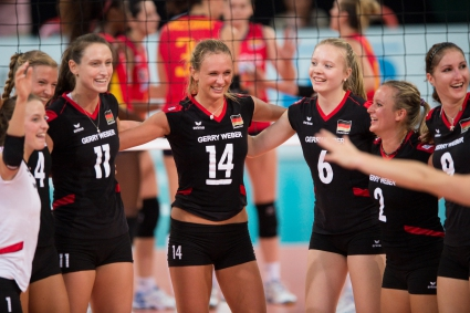 Германия, Белгия, Русия и Сърбия се класираха за 1/4-финалите на Евроволей 2013
