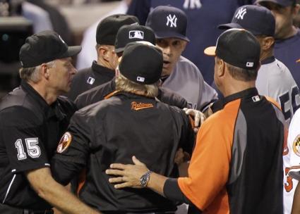 Треньорска разпра при победа на Балтимор срещу Янкис (видео)