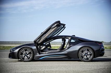 Световна премиера на суперхибрида BMW i8 (Галерия)