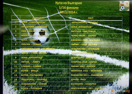 Промениха началните часове на мачовете на Левски и ЦСКА в турнира за Купата