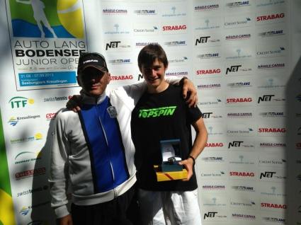 Габриел Донев се завърна като победител от турнир в Швейцария