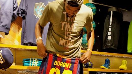 Дюрант се оказа фен на Барселона