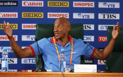 Франки Фредерикс се оттегли като президент на Намибийската атлетическа федерация