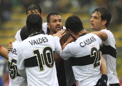 Касано вдъхнови Парма в тежък мач срещу последния