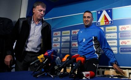Ивайло Петев няма да бъде треньор на Левски